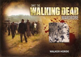2012 Cryptozoic Walking Dead Season 2 Wardrobe Costume Card Guide 28
