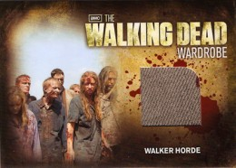 2012 Cryptozoic Walking Dead Season 2 Wardrobe Costume Card Guide 29