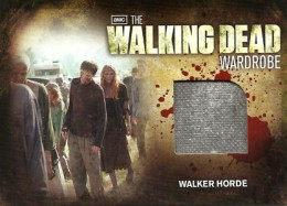 2012 Cryptozoic Walking Dead Season 2 Wardrobe Costume Card Guide 30