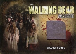 2012 Cryptozoic Walking Dead Season 2 Wardrobe Costume Card Guide 31