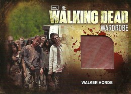 2012 Cryptozoic Walking Dead Season 2 Wardrobe Costume Card Guide 32