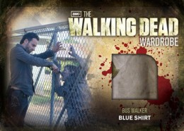 2012 Cryptozoic Walking Dead Season 2 Wardrobe Costume Card Guide 33