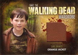 2012 Cryptozoic Walking Dead Season 2 Wardrobe Costume Card Guide 4
