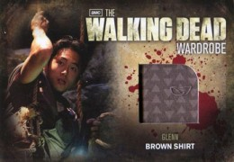 2012 Cryptozoic Walking Dead Season 2 Wardrobe Costume Card Guide 6