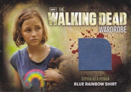 2012 Cryptozoic Walking Dead Season 2 Wardrobe Costume Card Guide 9