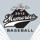 2012 Leaf Memories Baseball Cards