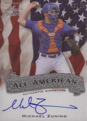 2012 Leaf Ultimate Draft Baseball Cards 4
