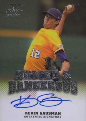 2012 Leaf Ultimate Draft Baseball Cards 3