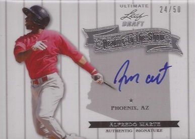 2012 Leaf Ultimate Draft Baseball Cards 8