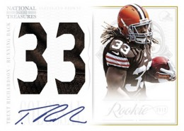 2012 Panini National Treasures Football Cards 6