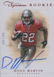 Doug Martin Rookie Cards Checklist and Guide 13
