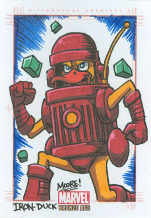 2012 Rittenhouse Marvel Bronze Age Trading Cards 6