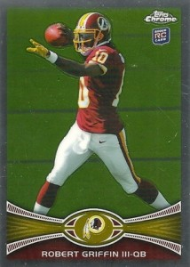 2012 Topps Chrome Football Robert Griffin III RC