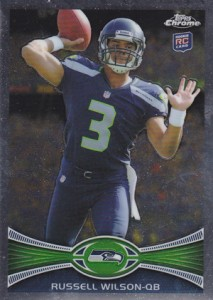 2012 Topps Chrome Football Russell Wilson RC