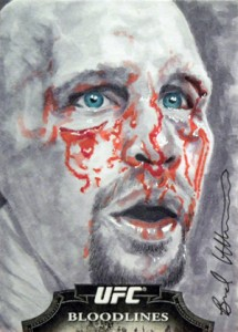 Art of War: Talking with UFC Sketch Card Artist Brad Utterstrom 2