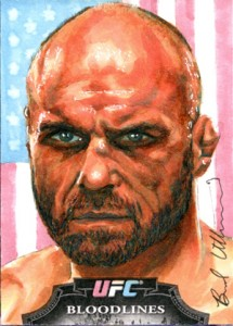 Art of War: Talking with UFC Sketch Card Artist Brad Utterstrom 3