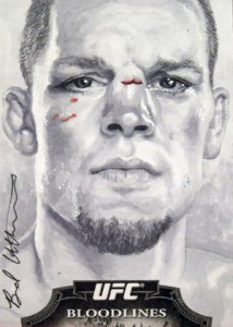 Art of War: Talking with UFC Sketch Card Artist Brad Utterstrom 4