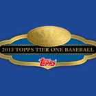 2013 Topps Tier One Baseball Cards