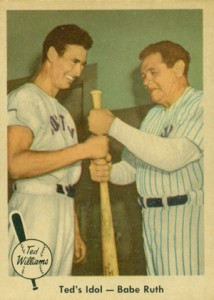 1959 Fleer Ted Williams Babe Ruth 2