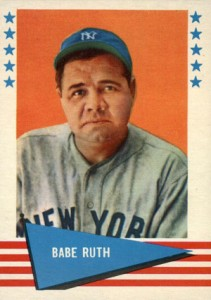 Cheap Vintage Babe Ruth Cards - 10 Cards for Under $50 5