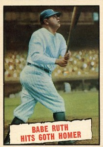 1961 Topps Babe Ruth 401