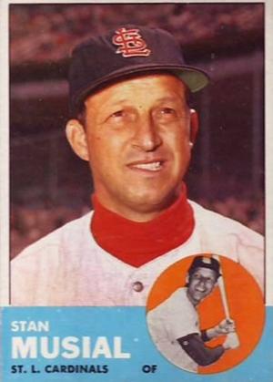 1963 Topps Baseball Cards 20