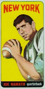 1965 Topps Football Joe Namath RC