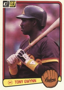 Tony Gwynn Cards and Memorabilia Guide 1