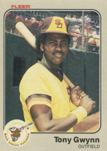 1983 Fleer Tony Gwynn RC