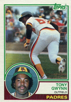 Tony Gwynn Cards and Memorabilia Guide
