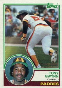Tony Gwynn Cards and Memorabilia Guide 4