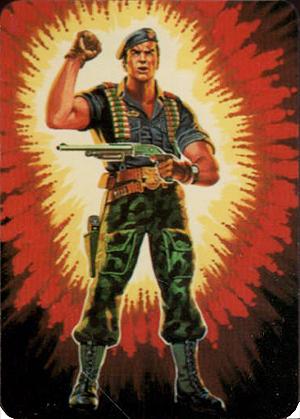 1986 Hasbro G.I. Joe Action Cards Trading Cards 19