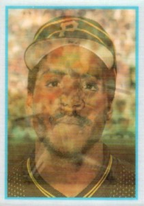 1986 Sportflics Barry Bonds RC