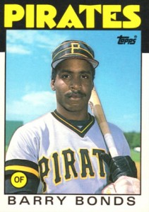 1986 Topps Traded Barry Bonds RC