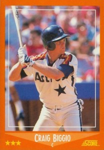 Craig Biggio Cards and Memorabilia Guide 2
