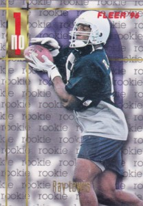1996 Fleer Ray Lewis RC