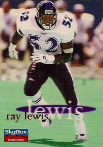 Ray Lewis Rookie Cards and Autograph Memorabilia Guide 6