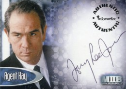 2002 Inkworks Men in Black II Tommy Lee Jones Autograph