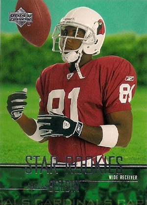 Anquan Boldin Cards - 2003 Upper Deck RC
