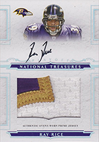 Ray Rice Football Rookie Cards and Autograph Memorabilia Guide