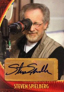 2008 Topps Indiana Jones and the Kingdom of the Crystal Skull Steven Spielberg Autograph
