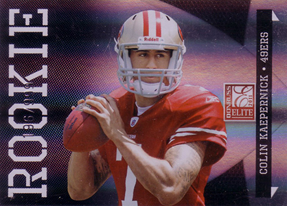 Top 10 Colin Kaepernick Rookie Cards 1