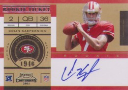 Top 10 Colin Kaepernick Rookie Cards 8