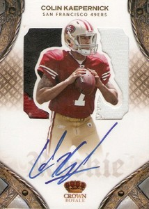 2011 Panini Crown Royale Colin Kaepernick RC