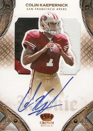 Top 10 Colin Kaepernick Rookie Cards 7