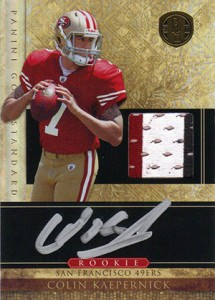 Top 10 Colin Kaepernick Rookie Cards 3