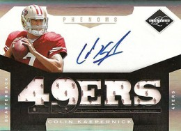 Top 10 Colin Kaepernick Rookie Cards 5