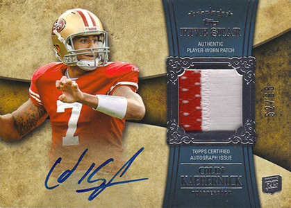 Top 10 Colin Kaepernick Rookie Cards 9