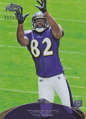 Torrey Smith Cards and Memorabilia Guide 2
