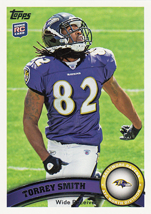 Torrey Smith Cards and Memorabilia Guide 1